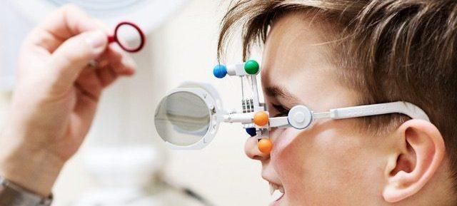 professionelle  Brillenwertemessung